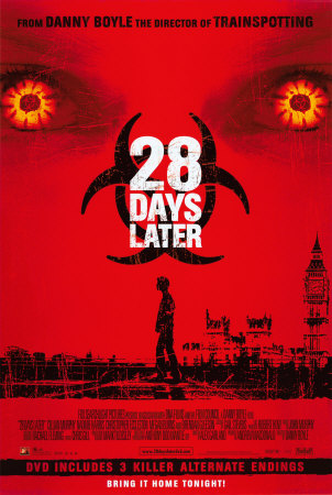 Top 10 Zombie Movies (AskMen.com) 28-Days-Later-Posters